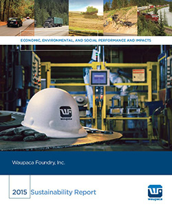 Waupaca Foundry 2015 Sustainability Report