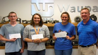 Waupaca Foundry awards local scholarships