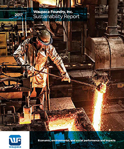 Waupaca Foundry 2017 Sustainability Report