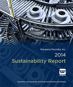 Waupaca Foundry 2014 Sustainability Report